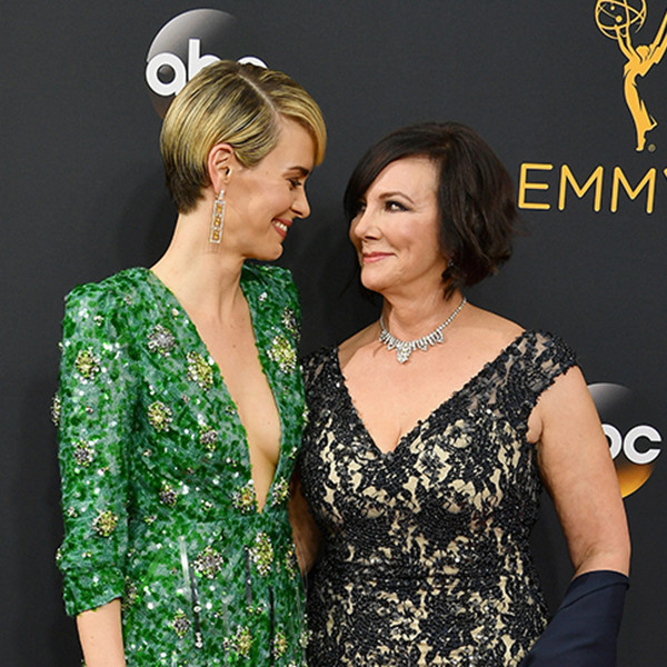 Sarah Paulson, Marcia Clark, 2016 Emmy Awards, Couples