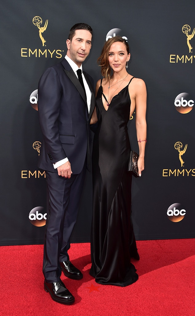 David Schwimmer, Zoe Buckman, 2016 Emmy Awards, Couples
