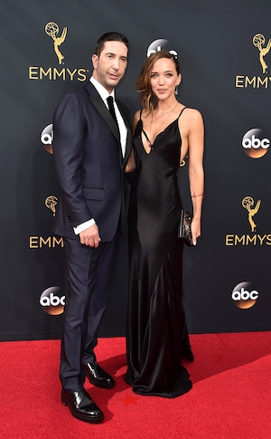 David Schwimmer, Zoe Buckman, 2016 Emmy Awards, Couples
