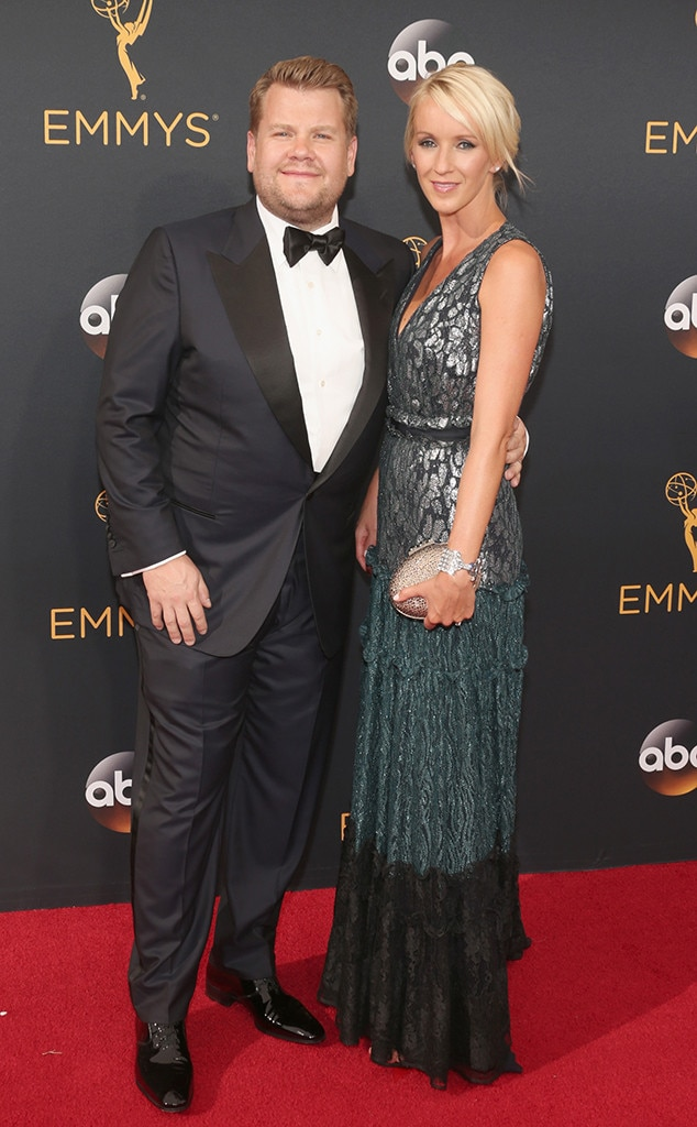 James Corden, Julia Carey, 2016 Emmy Awards, Couples
