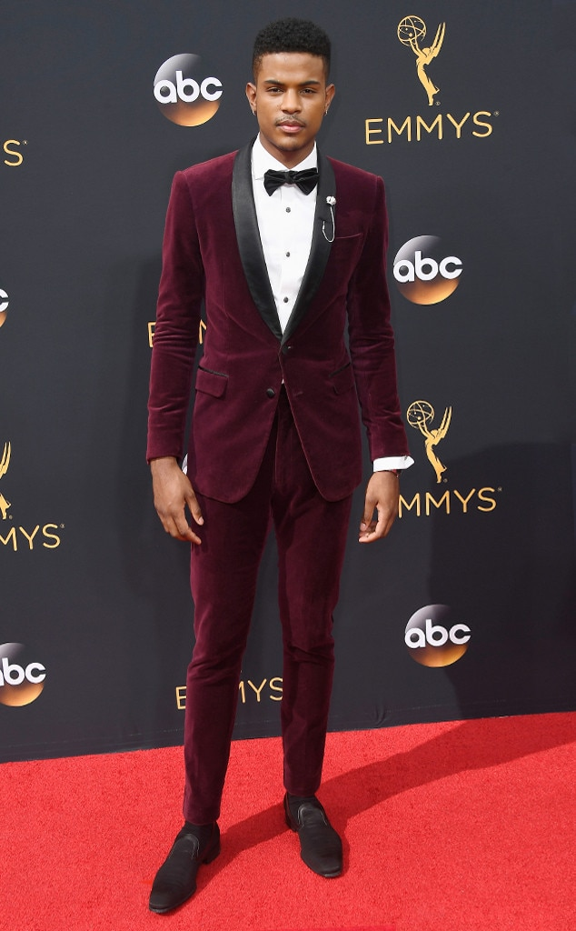 Trevor Jackson From 2016 Emmys Red Carpet Arrivals E News