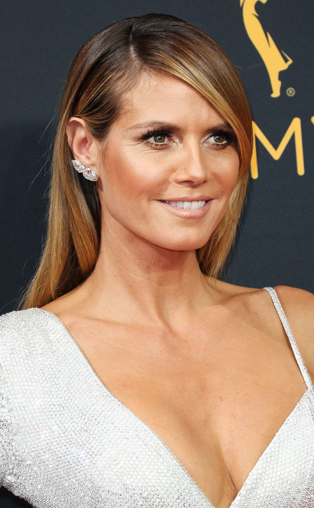 Heidi Klum from Best Hair at the 2016 Emmys | E! News