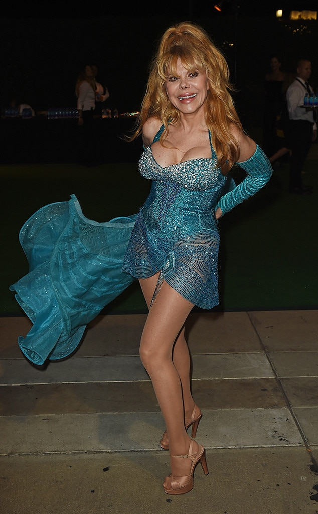 Charo, 2016 Emmy After Party, Governors Ball, Candids