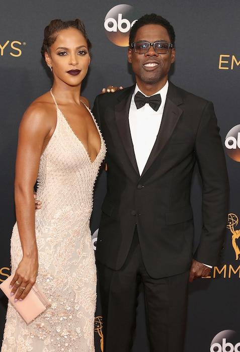 Chris Rock, Megalyn Echikunwoke, 2016 Emmy Awards, Couples