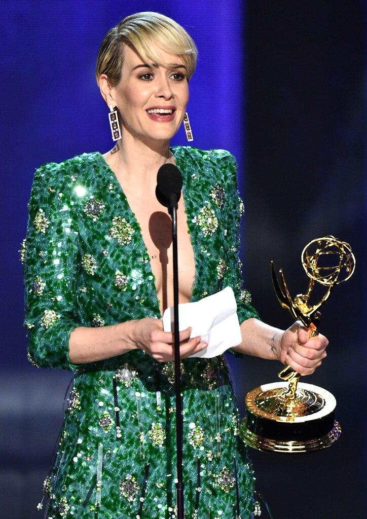 Sarah Paulson from 2016 Emmy Winners | E! News Emmy Winners