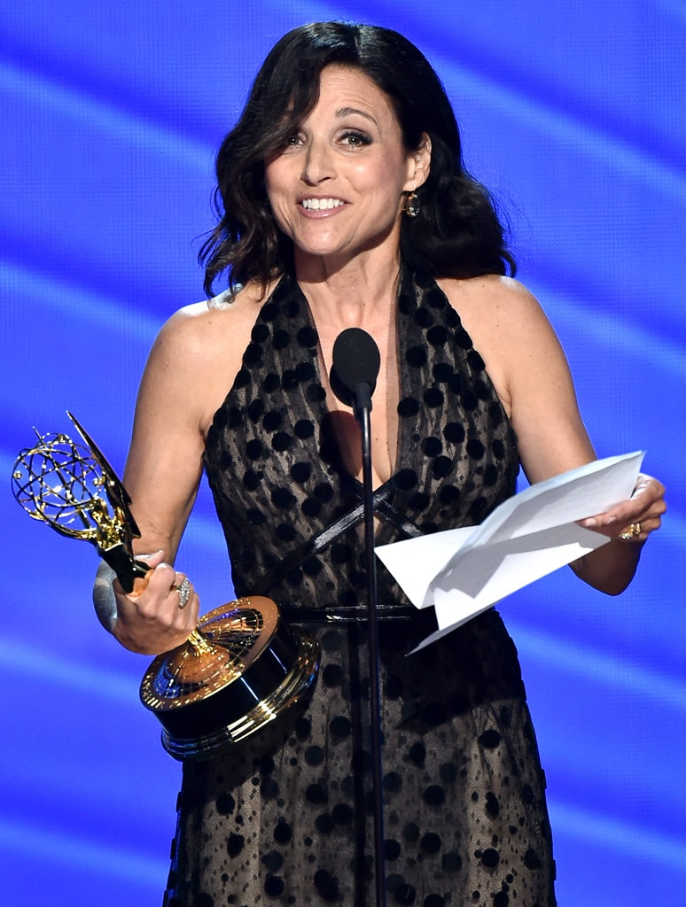 Julia Louis-Dreyfus, 2016 Emmy Awards, Winners