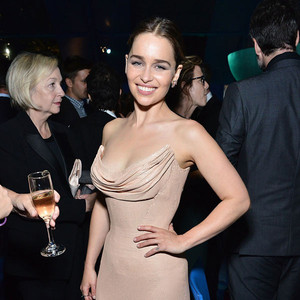 Emilia Clarke, 2016 Emmy After Party Pics