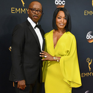Courtney B. Vance, Angela Bassett, 2016 Emmy Awards, Couples