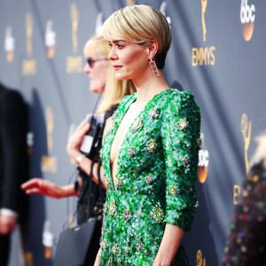 ESC: Emmy Dresses, Sequins, Sarah Paulson