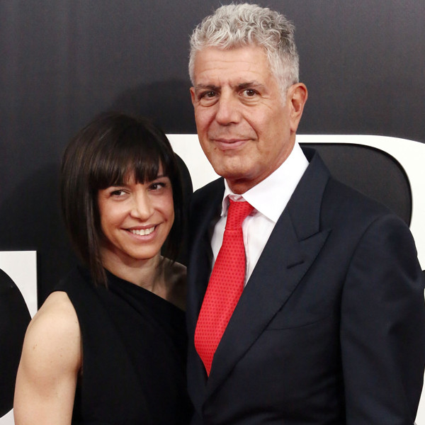 Ottavia Busia, Anthony Bourdain