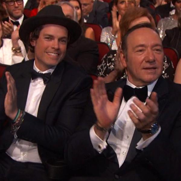 Kevin Spacey, Evan Lowenstein, 2016 Emmy Awards