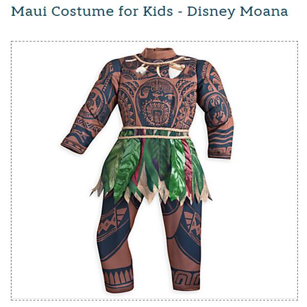 Moana, Halloween Costume