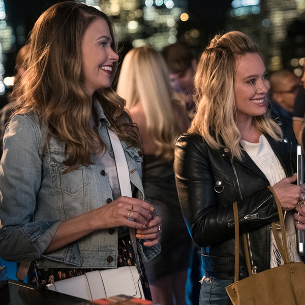 Sutton Foster, Hilary Duff, Younger