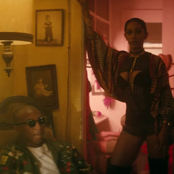 J Balvin Safari, Pharrell Williams Music Video