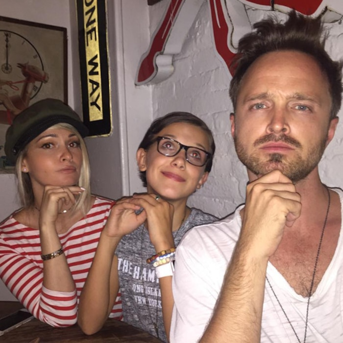 Lauren Paul, Aaron Paul, Instagram