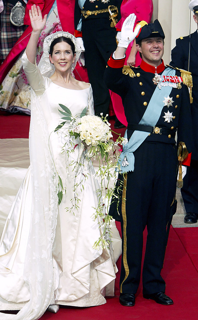 Prince Frederik, Princess Mary Donaldson, Copenhagen