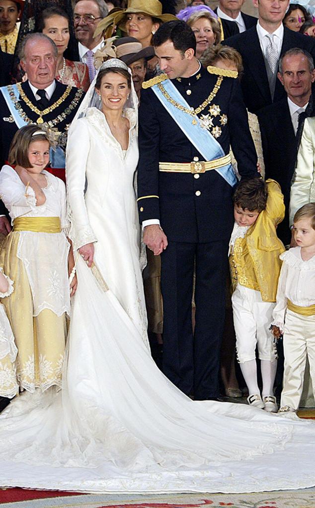 Prince Felipe, Princess of Asturias Letizia Ortiz, Spain