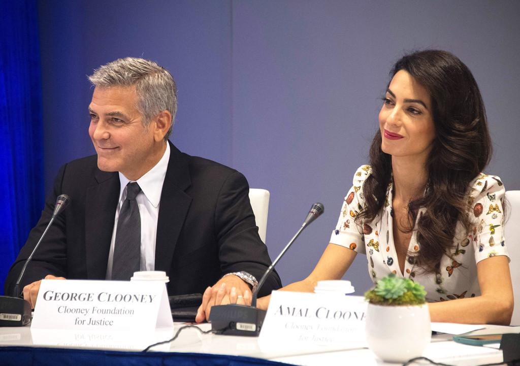 Amal Clooney, Geroge Clooney