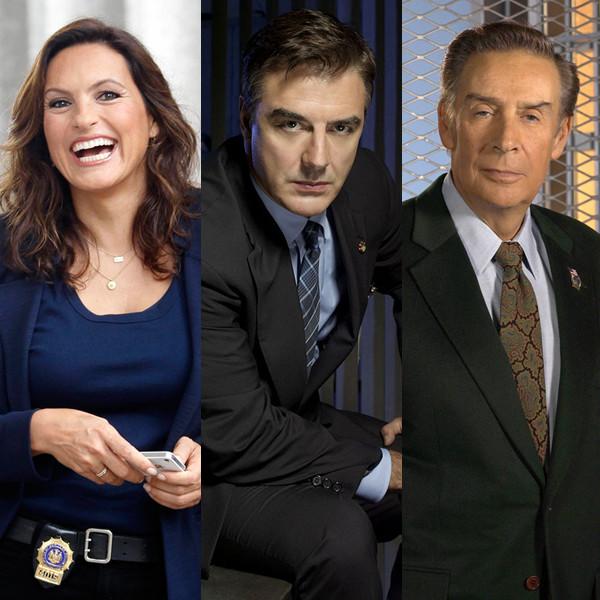 Law & Order, Mariska Hargitay, Chris Noth, Jerry Orbach