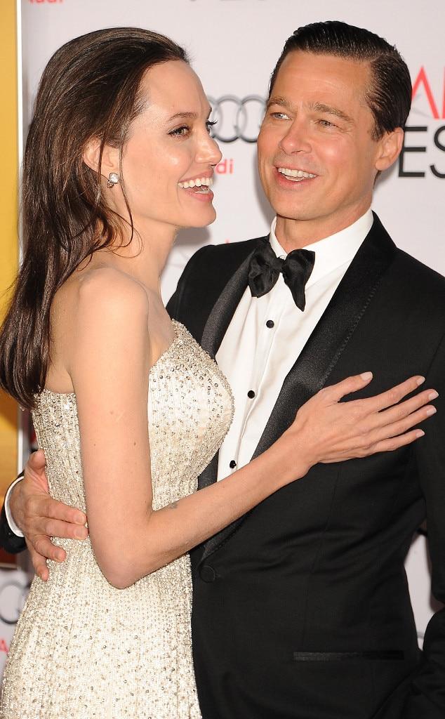 Brad Pitt & Angelina Jolie Break Up: Everything We've ... Angelina Jolie Brad Pitt