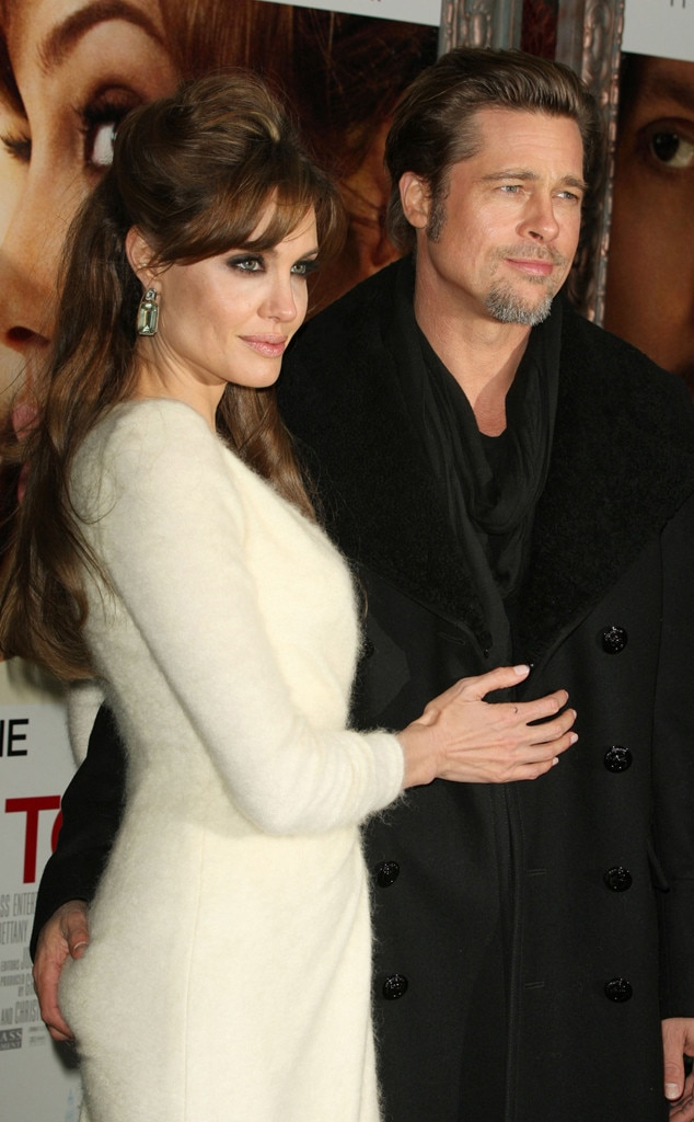 angelina jolie brad pitt divorce after years marriage