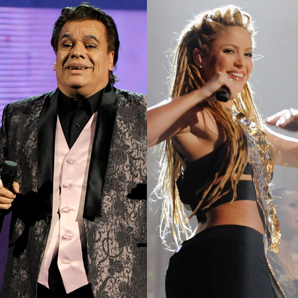 Latin Grammy Nominations, Shakira, Juan Gabriel, Andrea Bocelli