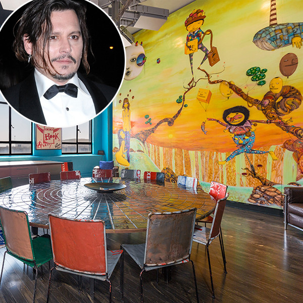 Johnny Depp, Downtown Los Angeles Penthouse