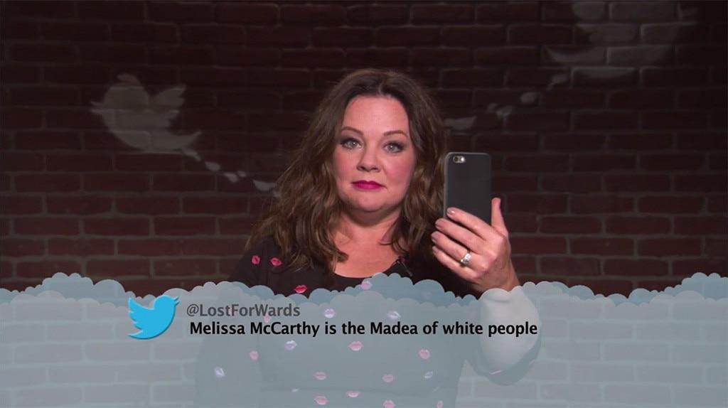 Celebrity read mean tweets
