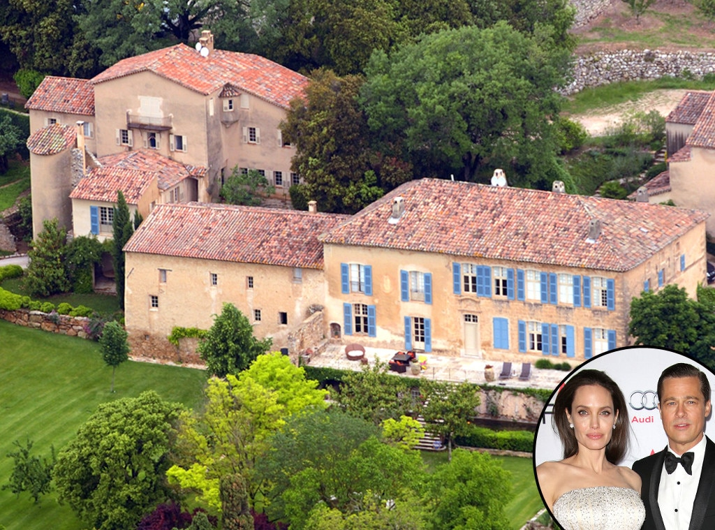 Hollywoods Coolest Destination Weddings, Brad Pitt, Angelina Jolie