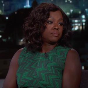 Viola Davis, Jimmy Kimmel Live