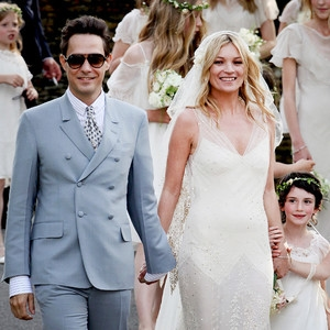 ESC: Wedding Dress, Kate Moss