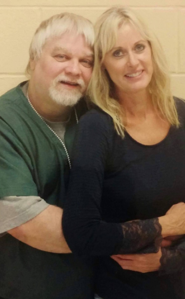 Image: Steven Avery and Lynn Hartman