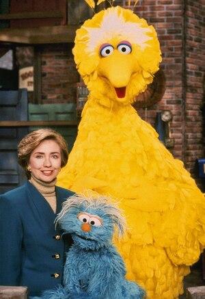 Hillary Clinton, Sesame Street
