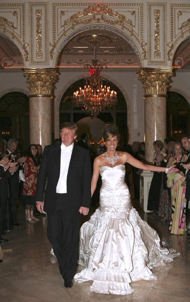 Melania trump wedding dress cost cool melania trump for Melania trump wedding dress