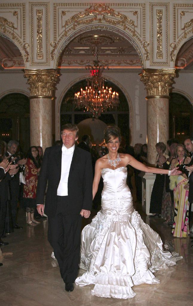 Donald Trump Melania Wedding