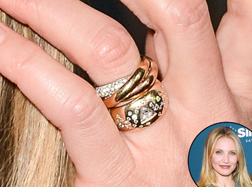 Cameron Diaz From Truly Unique Celebrity Engagement Rings. Circular Rings. Band Chevron Wedding Rings. Classy Wedding Rings. Medieval Style Wedding Rings. Composite Wedding Rings. Groomsman Wedding Rings. Quirky Wedding Rings. Mens Medieval Wedding Rings