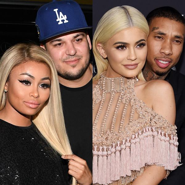 Blac Chyna, Rob Kardashian, Kylie Jenner, Tyga