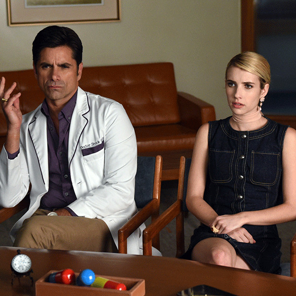 Scream Queens, Emma Roberts, John Stamos