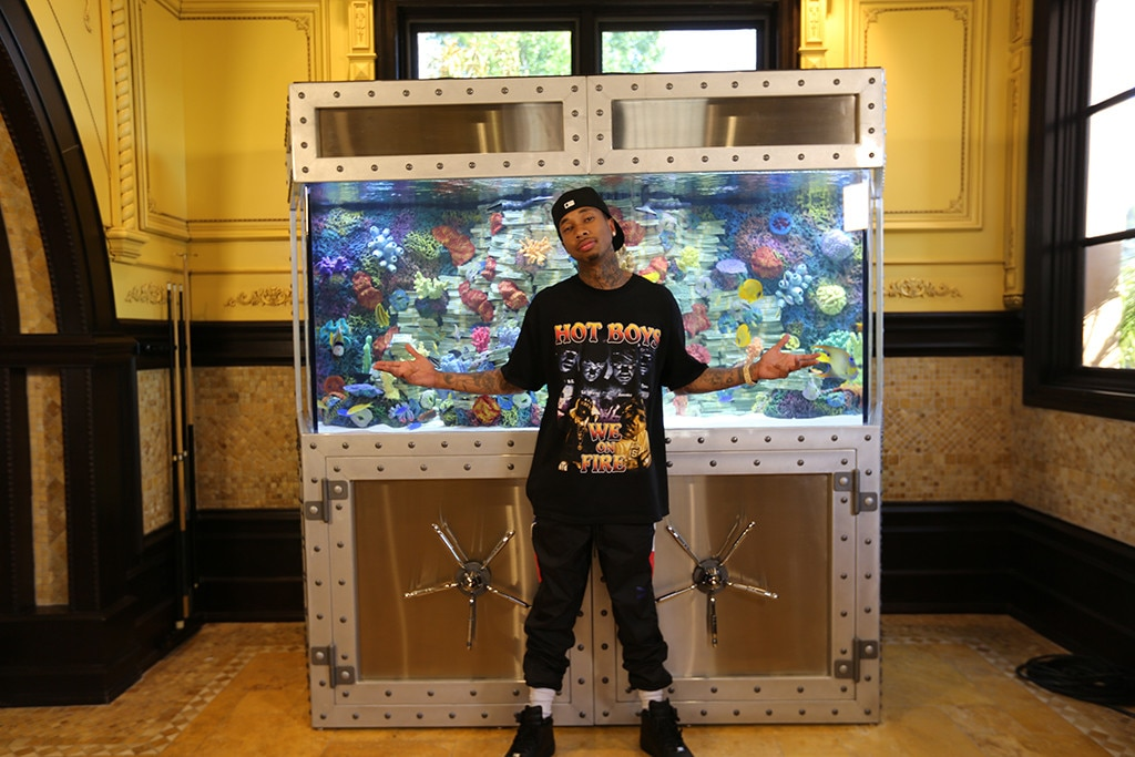Tyga Is Spending a Fortune to Decorate His Money-Themed House | E! News