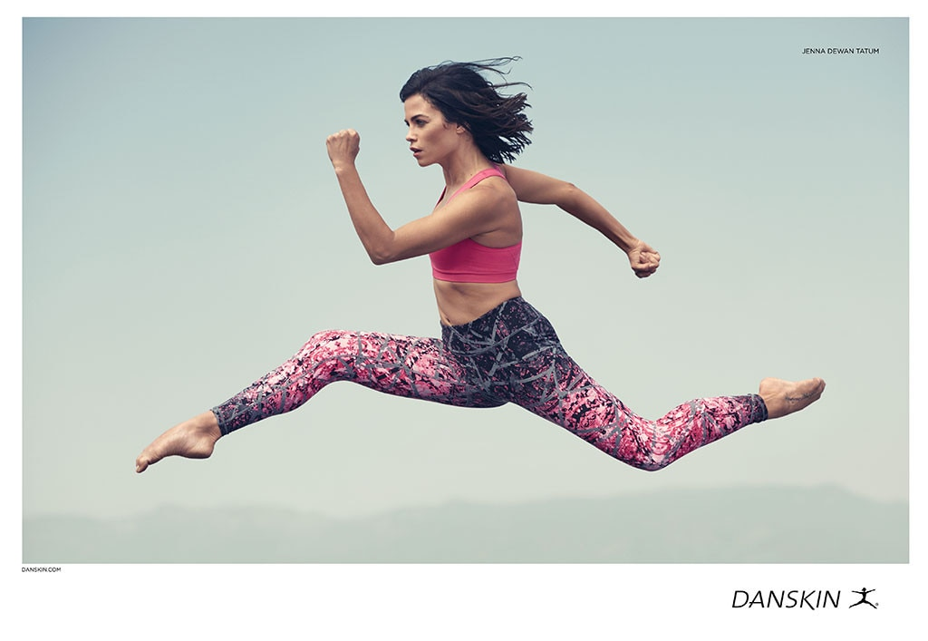 Jenna Dewan-Tatum Returns to Her Dancer Roots in Danskin Campaign | E ...
