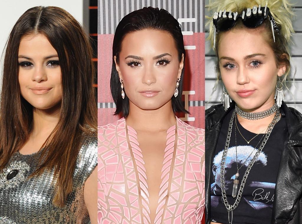 Miley Cyrus, Demi Lovato, Selena Gomez