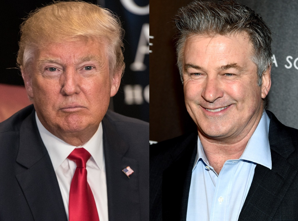 President Trump, Alec Baldwin feud on Twitter over presidential impersonation