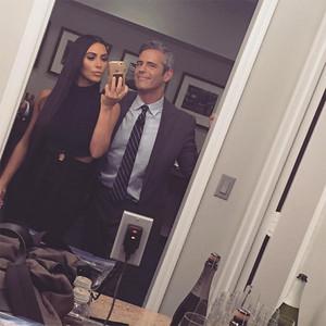 Kim Kardashian, Andy Cohen