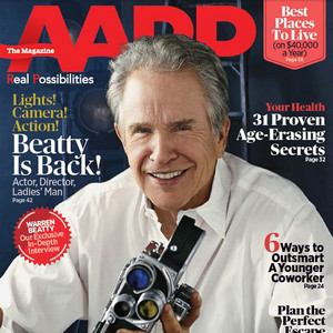 Warren Beatty, AARP The Magazine