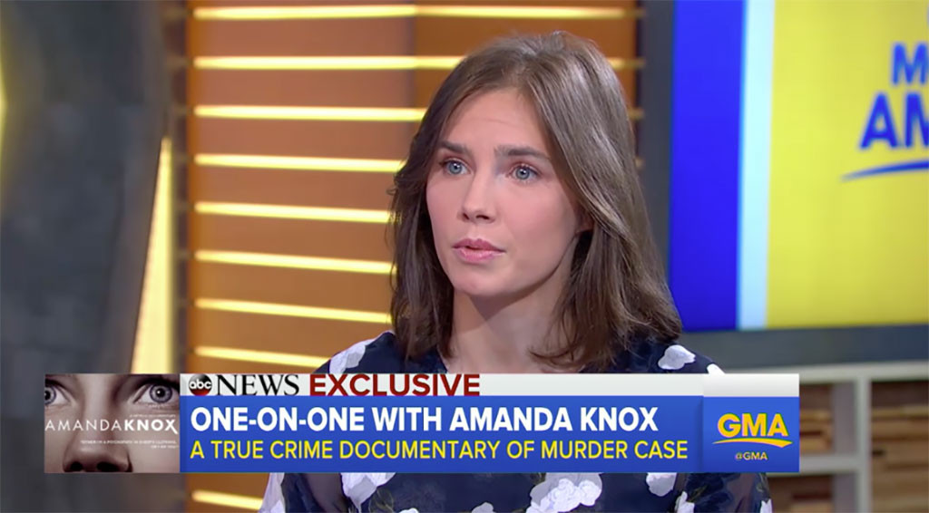 Amanda Knox, Good Morning America