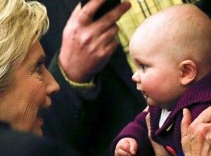 Hillary Clinton, Babies