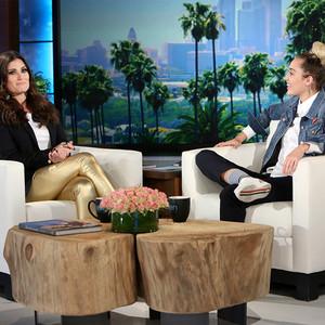 Miley Cyrus, Idina Menzel, The Ellen DeGeneres Show