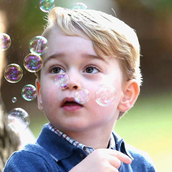 Prince George Turns 4: See His Cutest Photos