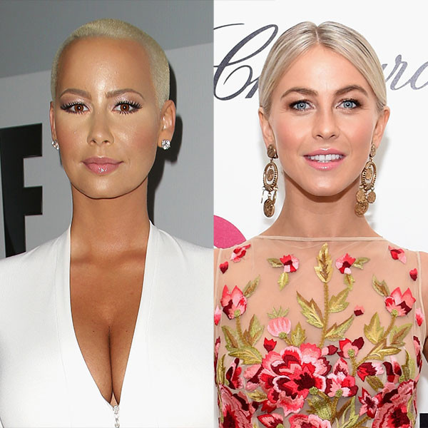 Amber Rose, Julianne Hough