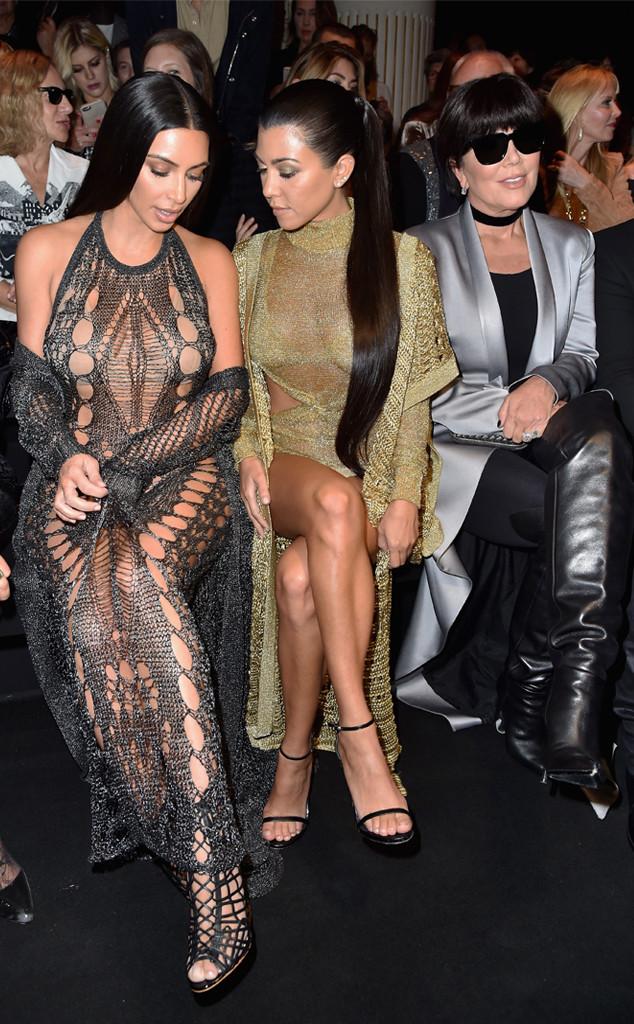 Kim Kardashian, Kourtney Kardashian, Kris Jenner, Paris, Pre-Robbery 2016